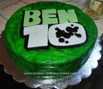 Ben Ten Birthday Cake Images