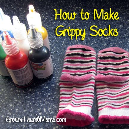 Grippy socks aren't just for toddlers...these would be great for yoga or for Grandma too!