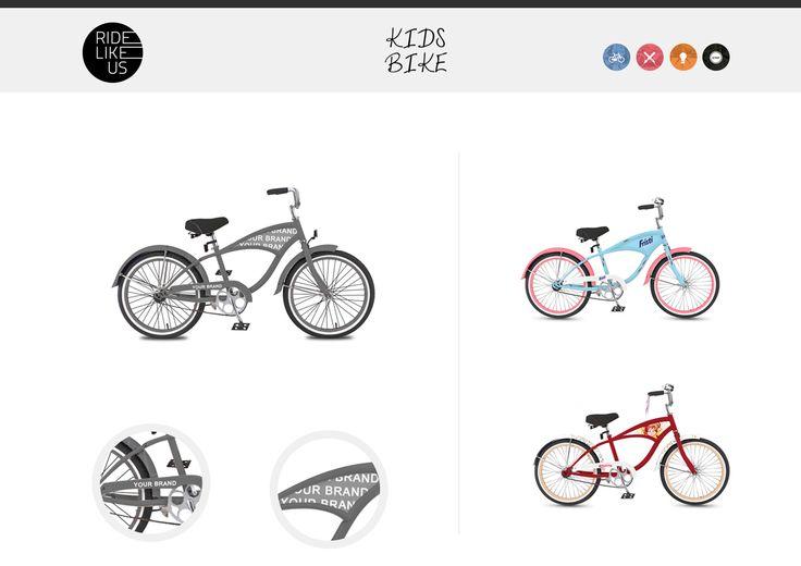 Your Brand Here - Kids Bike | Ride Like Us