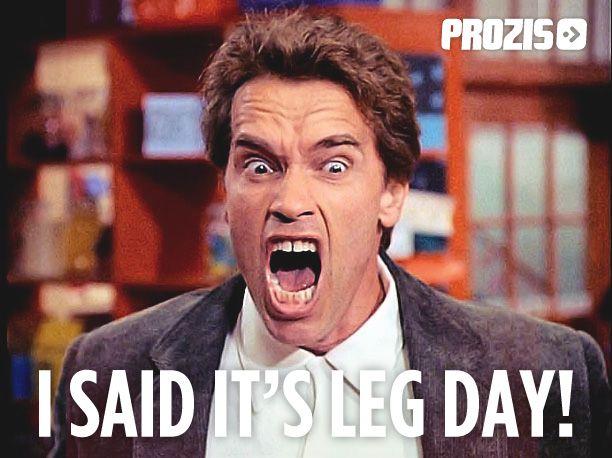 I said it's leg day!! Arnold Schwarzenegger #workout #hilarious #funny #humor #fat-gyms LOL