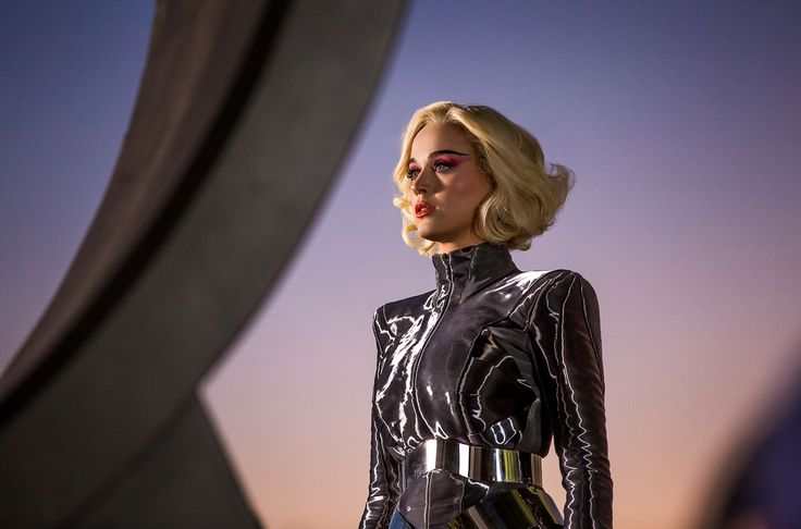 "After teasing fans with a brief glimpse at the futuristic Oblivia over the weekend, Katy Perry opened the gates to her space age fun park on Monday morning (Feb. 21) in the video for her latest single, ""Chained to the Rhythm."""