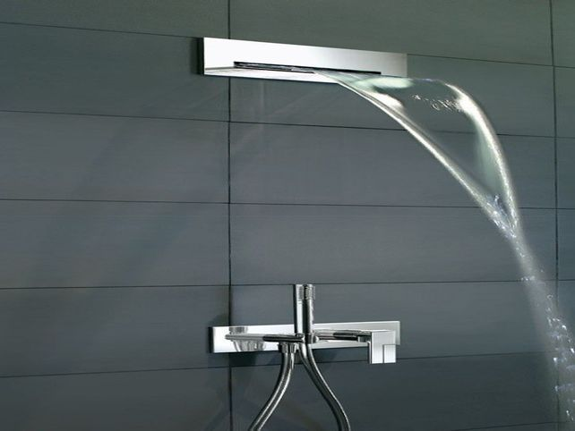 waterfall shower head kohler  Shower Heads  Waterfall shower Shower heads Shower panels