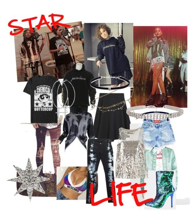 """""""Obsessed with STAR on Fox❤ Their stylist is life! Georgia Peach Mode."""" by ali-scheider on Polyvore featuring Vetements, George, Chanel, Issey Miyake, J Brand, MANGO, Dorothy Perkins, Kiki Minchin, Carbon & Hyde and Bee Goddess"""