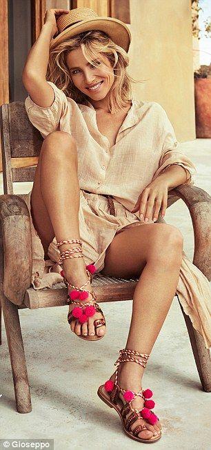 Elsa Pataky looks STUNNING in shoe photoshoot