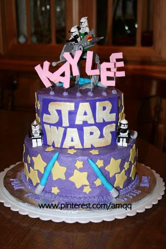 1000+ images about Party on Pinterest | Star wars party, Light saber ...