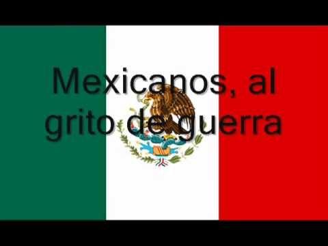 EL HIMNO NACIONAL MAS HERMOSO DEL MUNDO  (MEXICO 2011) CON LETRA.
