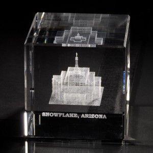 Snowflake Arizona Temple Cube