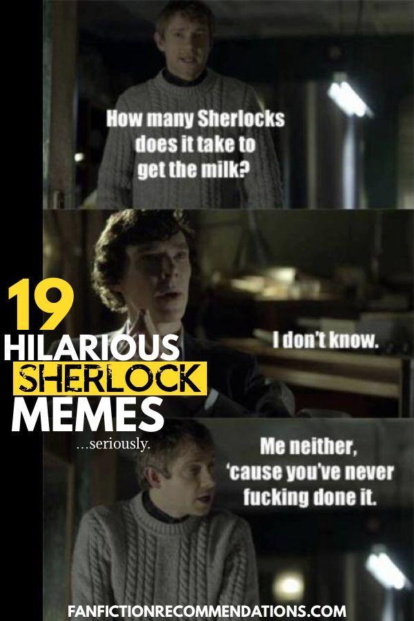 19 Hilarious Sherlock Memes That'll Tickle Your Funny Bone