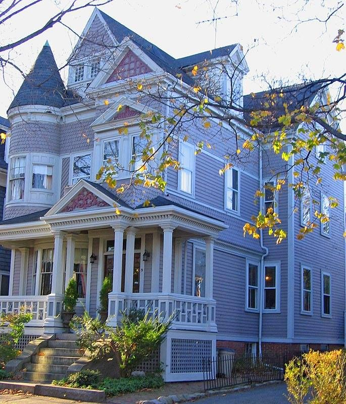This is my ultimate desire. If I win Mega Millions I will own a home like this in Salem Mass. Peace out everyone!Queens Anne House, Victorian House, Massachusetts House, Salem Massachusetts, Victorian Home, Pattern Shingles, Dreams House, Dream Houses, Queen Anne Houses