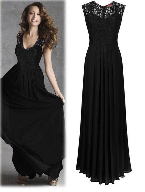 Mulheres Lace mangas verão vestido longo elegante estilo OL alta cintura Maxi vestido para mulheres Plus Size Patchwork Vestidos Vestidos