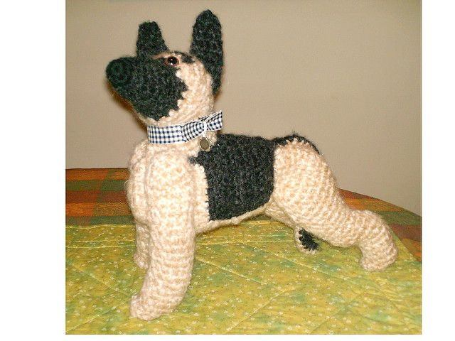 filet crochet pattern for german shepards