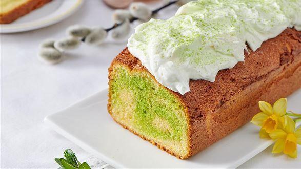 Babka Z Herbata Matcha Przepis Recipe Desserts Matcha Food