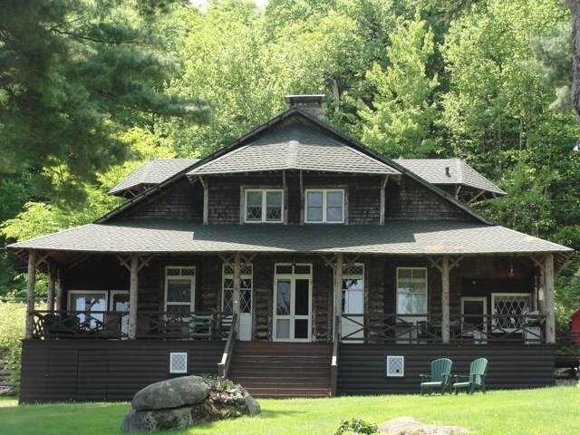 Saranac Lake House, ca.1900