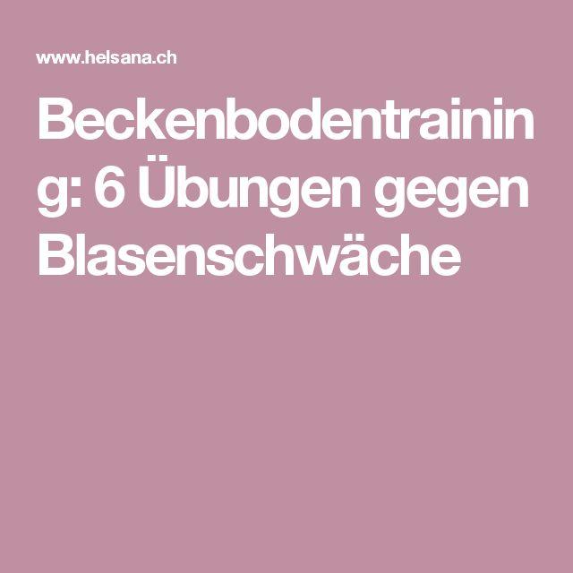 Beckenbodentraining: 6 Übungen gegen Blasenschwäche