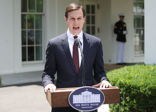 """During the address, which lasted less than three minutes, Kushner denied any wrongdoing. """"I did not collude with Russia…I had no improper contacts,"""" he stated. But he also served some other truly memorable lines… 
