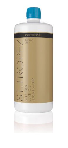 Sunless Tanning Products: St Tropez Luxe Dry Oil Mist Spray Tanning Solution 33.8 Oz Liter BUY IT NOW ONLY: $62.99