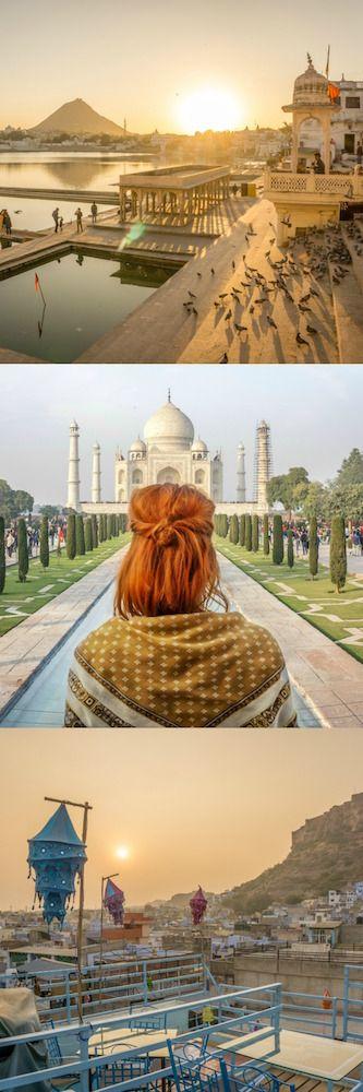 Die perfekte Indien Rundreise: Rajasthan, Delhi & Agra