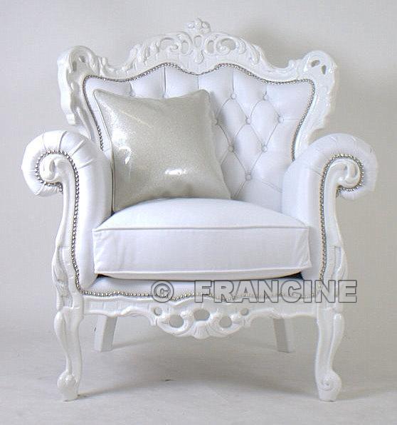 Barok stoel teen spys bravo