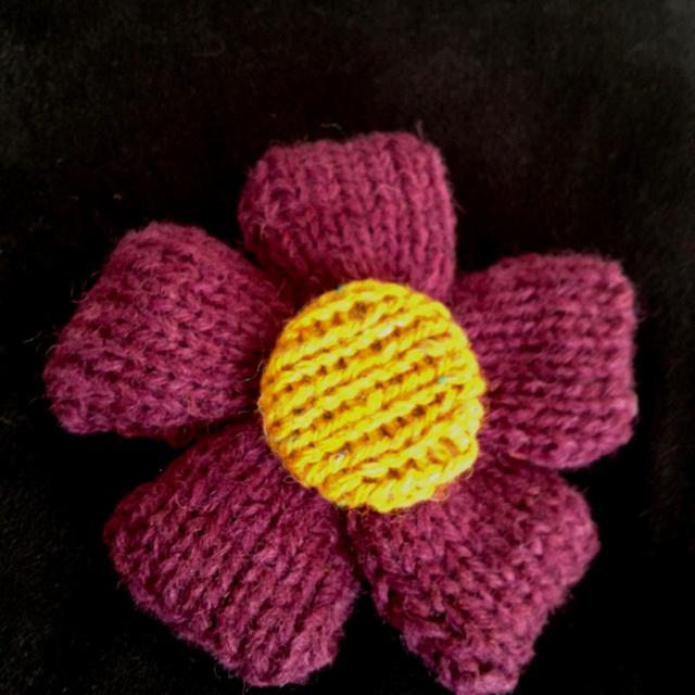 Puffy flower.