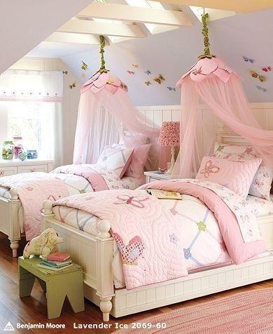 Dreamy girl's bedroom!