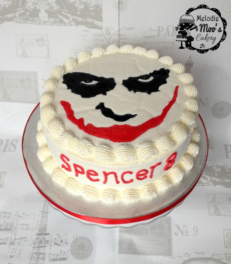 Joker Cake Ideas