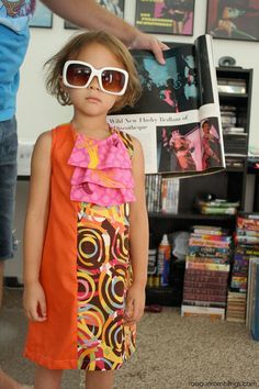La robe Marvelously Mod pour petites filles
