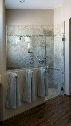 I Like the towel older right outside the shower Bathroom Remodeling l Remodel Design Tempe