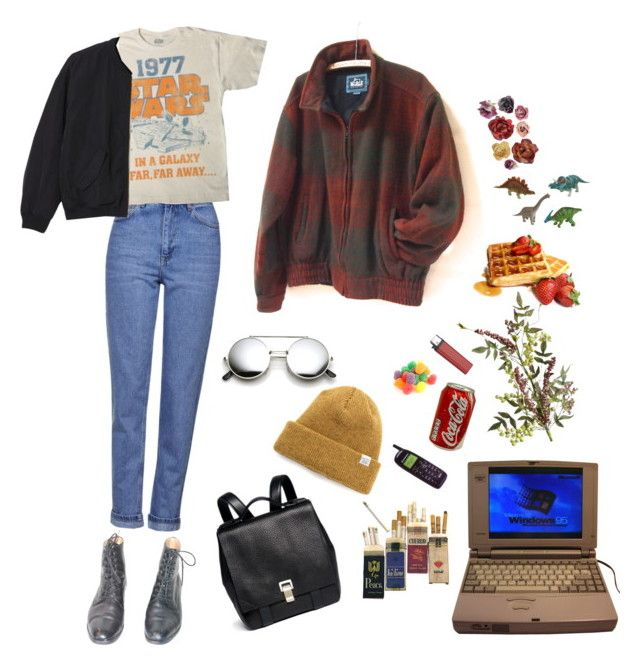 """not about reciprocation"" by stremilie ❤ liked on Polyvore featuring Topshop, Proenza Schouler, Monki, Norse Projects, Woolrich and Pier 1 Imports"
