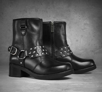 2017 Beautiful Harley Davidson Mcabee Boot Black Leather