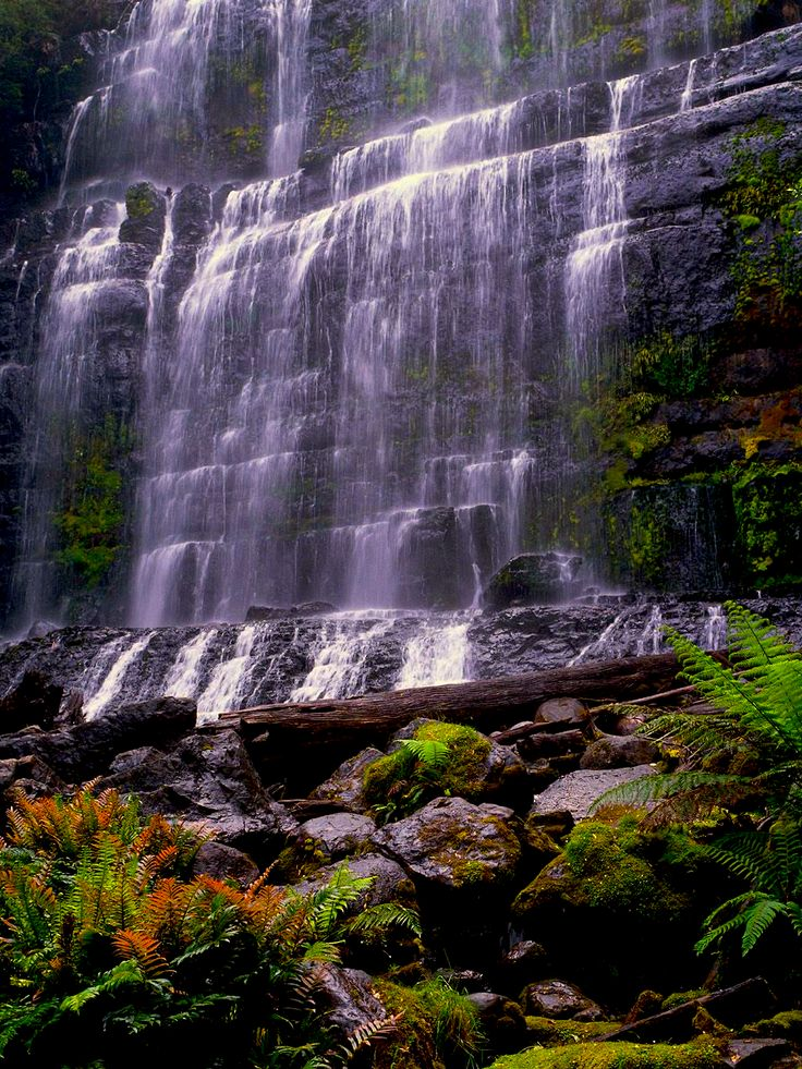Russell Falls, Mount Field National Park, New Norfolk, Tasmania, Australia