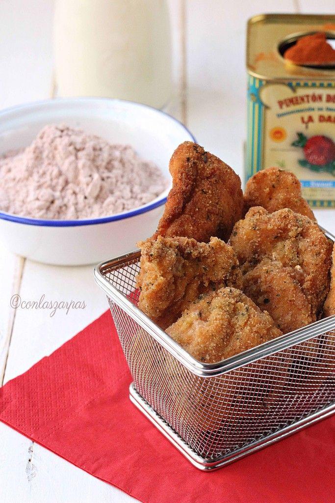 Pollo frito (con leche)