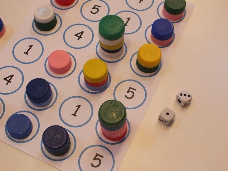 Számok bontása – tízes átlépéssel is  elsősökkel, gondolkodás, játékok, letölthető, matematika, óvodás, társasjáték  Sárosdi Virág által...