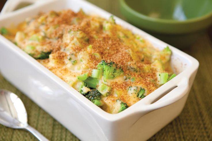 Yummy Broccoli and Cheese Casserole Recipe