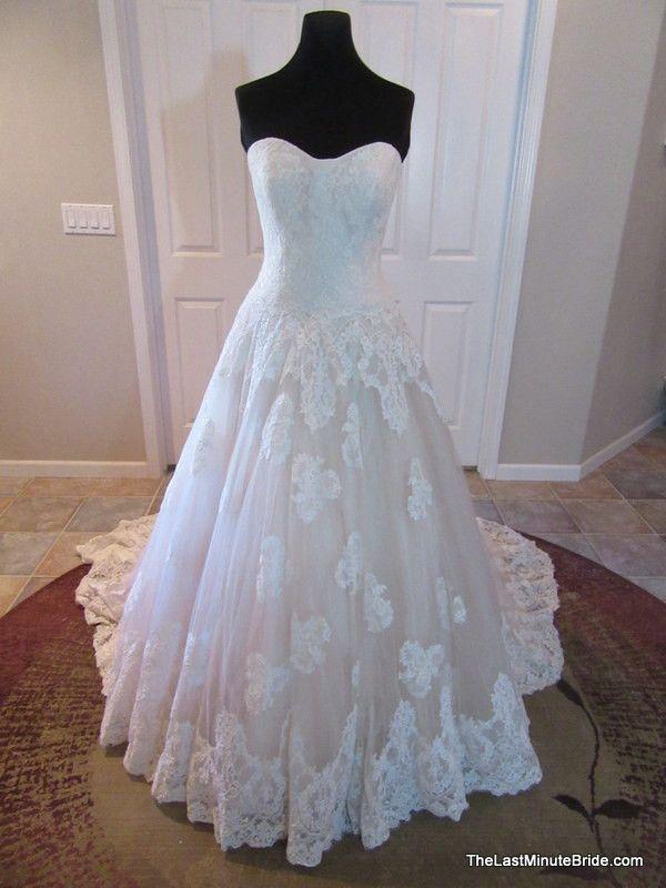 29 best blush wedding dresses images on pinterest short for Last minute wedding dress