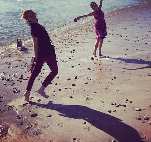 Bridgit Mendler's fun beach day! | Disney Stars ...