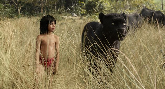 Découvrez les premières images de la version live du Livre de la jungle réalisée par Jon Favreau avec le jeune Neel Sethi dans la peau de Mowgli.