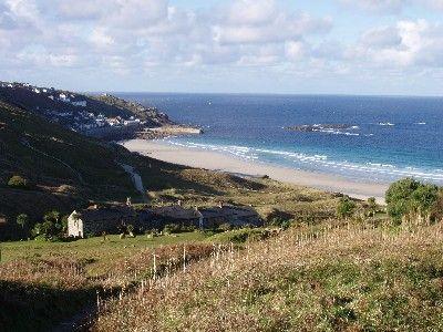 Sennen house rental - Walk to the beach