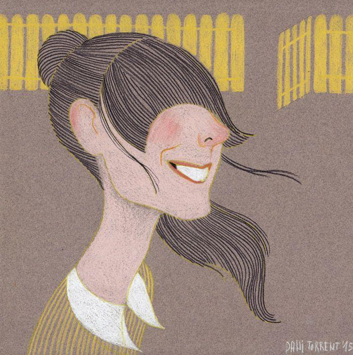 portrait of susanna by Dani Torrent