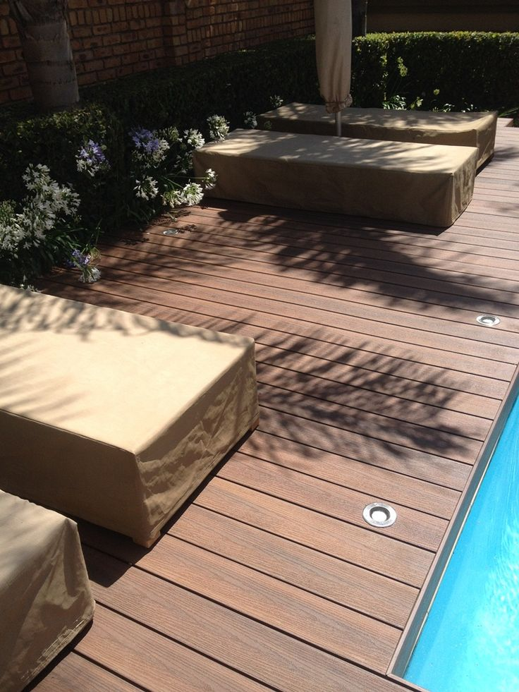Eva-Tech Infinity range deck, Zambezi Kiaat !!!