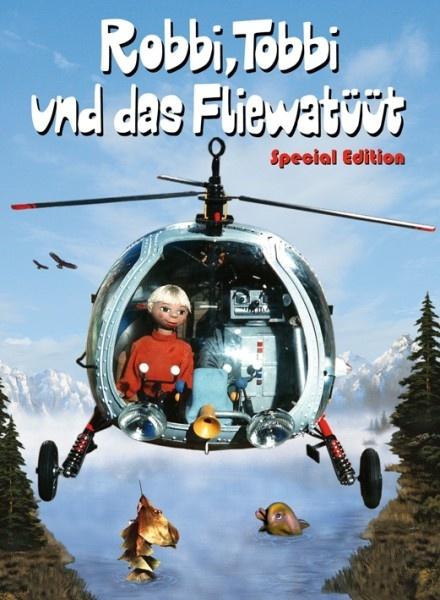 Robbi, Tobbi und das Fliewatüüt; great series and even greater soundtrack!