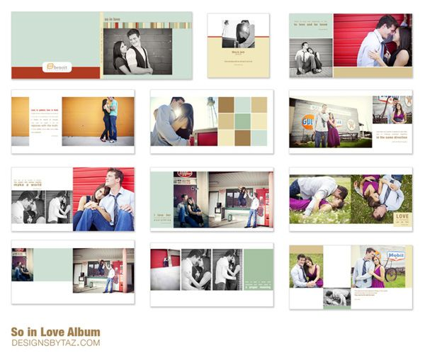 Photo Album Examples: 18 Best Images About Templates On Pinterest