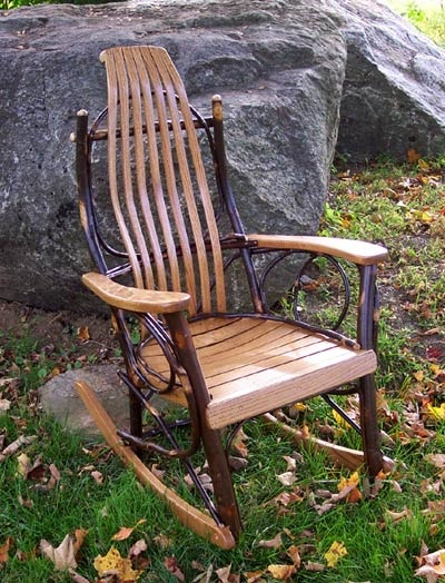 For baby.  Amish rocking chair.  Like the ones at Das Essenhaus.