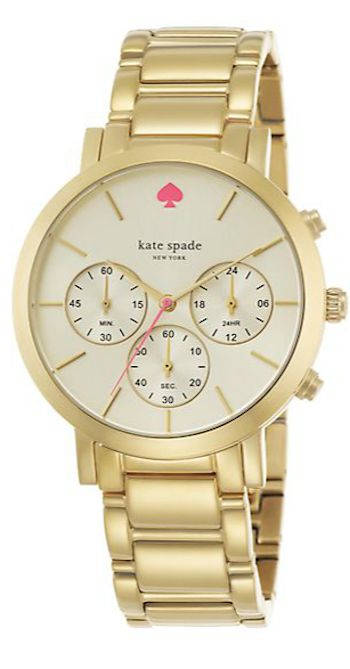 kate spade gold bracelet watch - use code APR2015 to get a Saks gift card