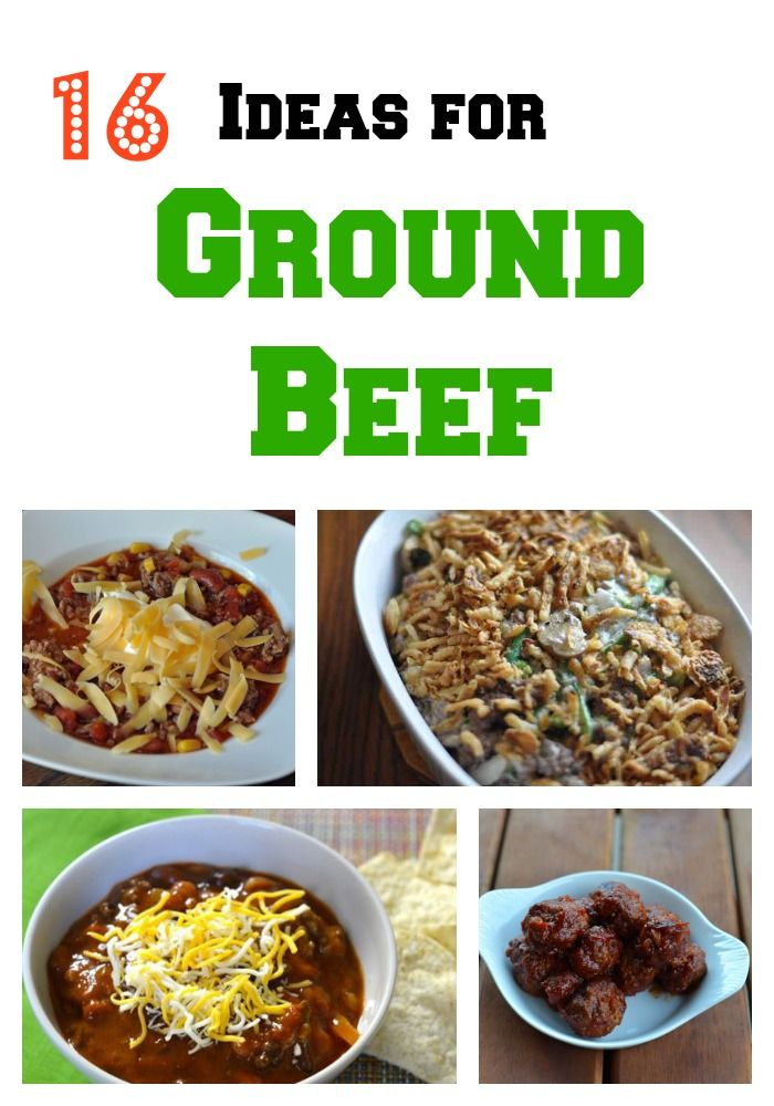 16 Recipes for Ground Beef