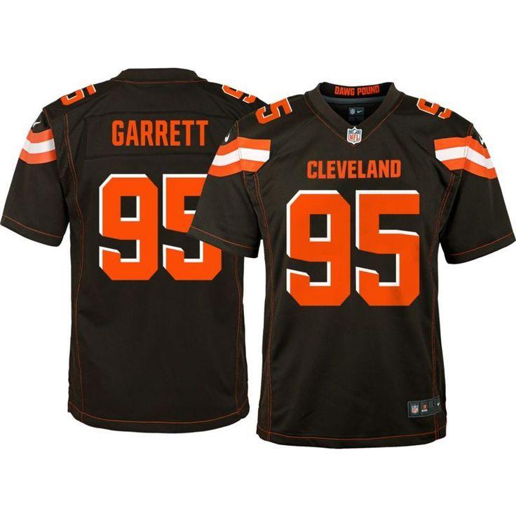 Nike Youth Home Game Jersey Cleveland Myles Garrett #95, Size: Medium, Team