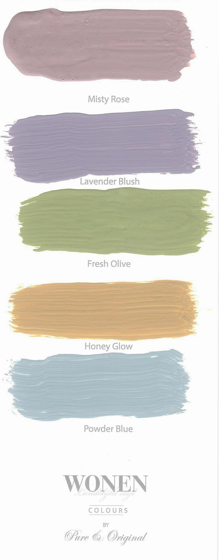 set of 5 new colors. Colors in Lime Paint, Chalk Paint and much more. Take a look at our website.