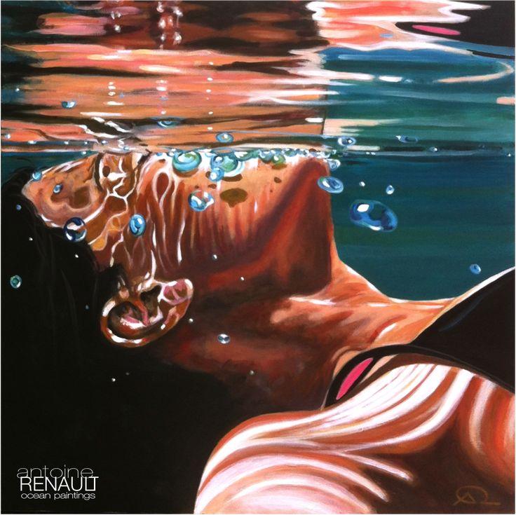 """""""Zen comme un Zener"""" - Antoine Renault 2013 - 100x100cm"""