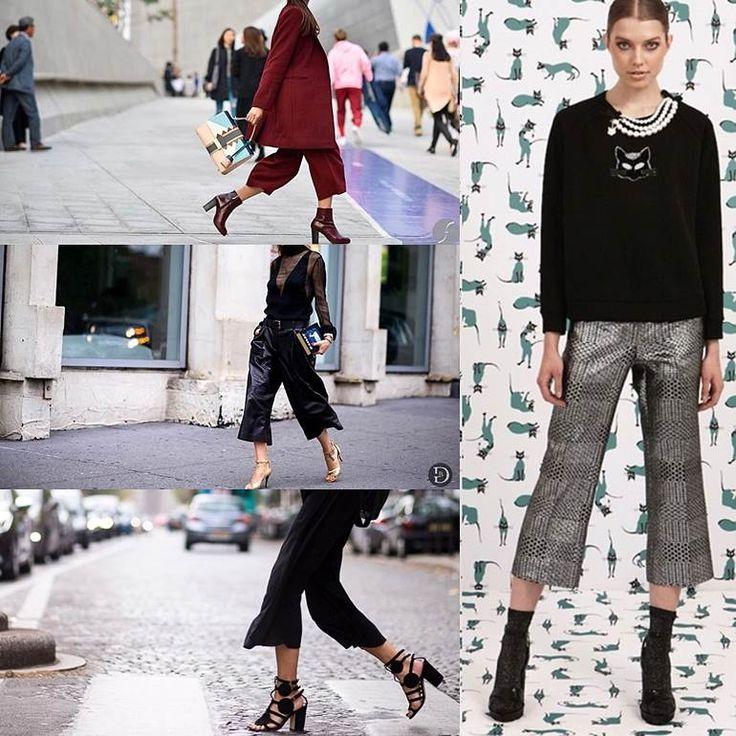 Кюлоты: короткие штанишки снова в моде