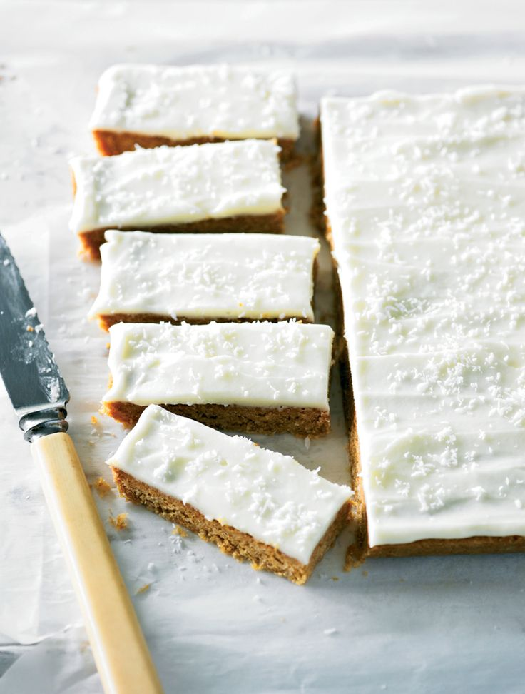 Merles slice - Coconut Bars
