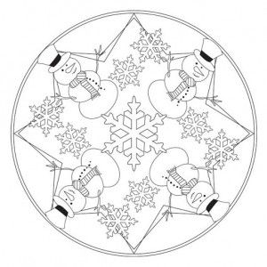 winter mandala coloring pages (2)